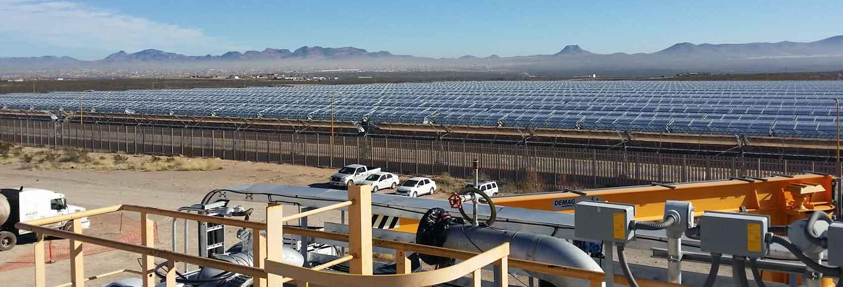 mantenimiento plantas solares