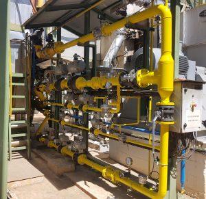 Skid de gas - Gas Skid - Soluciones de Combustion