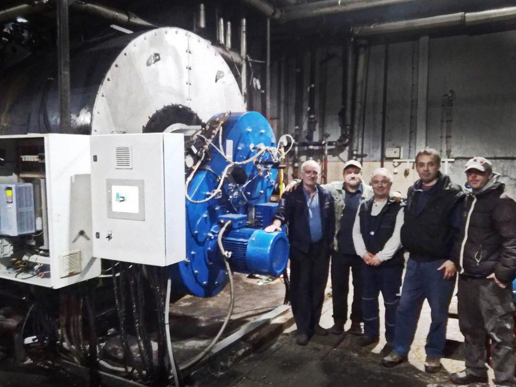Instalación de calefacción urbana en Serbia | Soluciones de Combustion