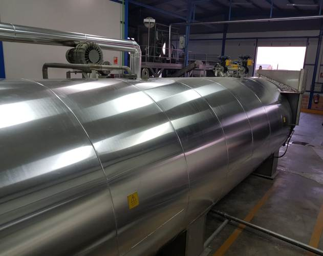 Autoclave in a Spanish Food Industry | Combustion Solutions | Soluciones de Combustion