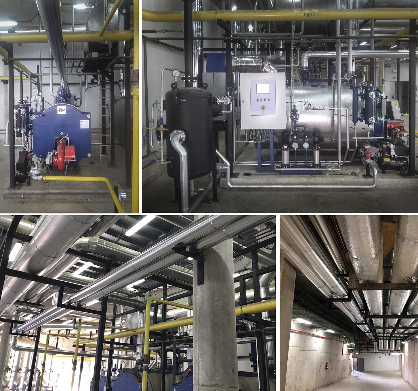 Supply of a turnkey Steam Boiler for a hospital in Caceres | Combustion Solutions