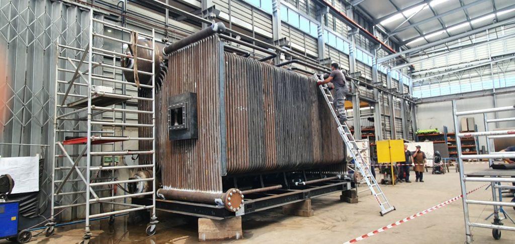 Fabricacion de una caldera para la industria farmaceutica - Soluciones Integrales de Combustion