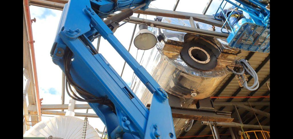 Instalacion de una caldera de vapor para la industria papelera - Soluciones Integrales de Combustion