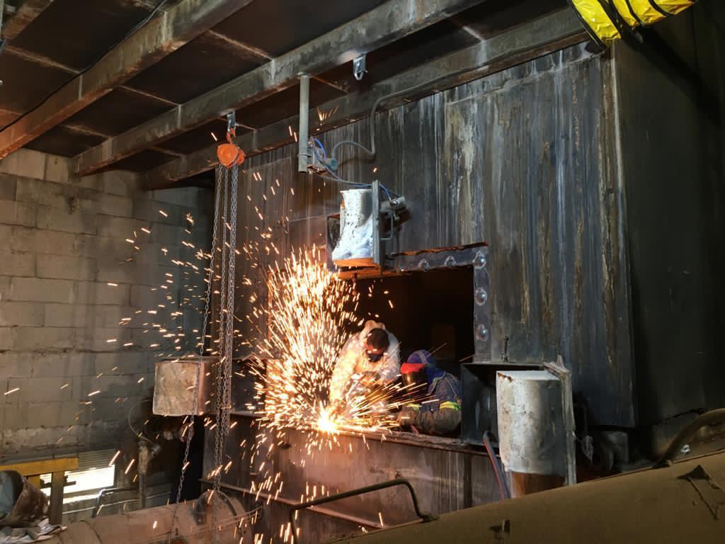 Caldera de biomasa. Soluciones Integrales de Combustion