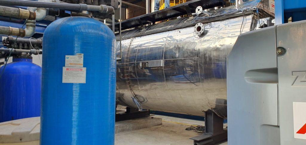 Caldera de vapor - Industria papelera - Soluciones Integrales de Combustión