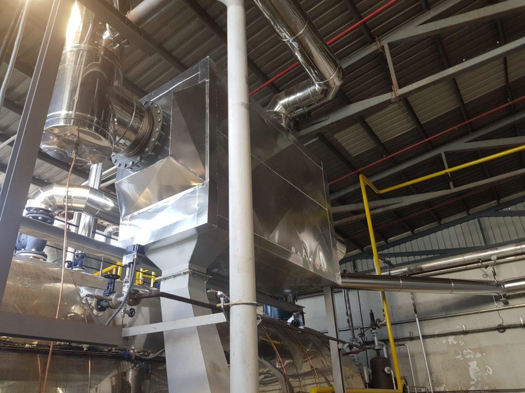 Modernizacion de una instalación térmica en una papelera - Soluciones Integrales de Combustion