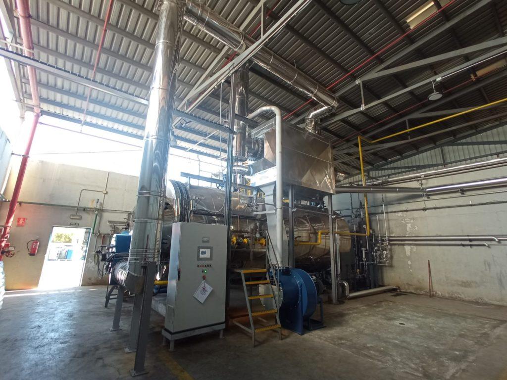 Precalentadores de aire de combustion SICAPH. Soluciones Integrales de Combustion