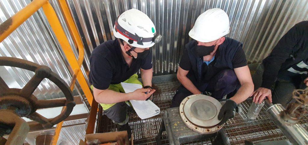 Limpieza acustica Nirafon en una central de biomasa - Soluciones Integrales de Combustion