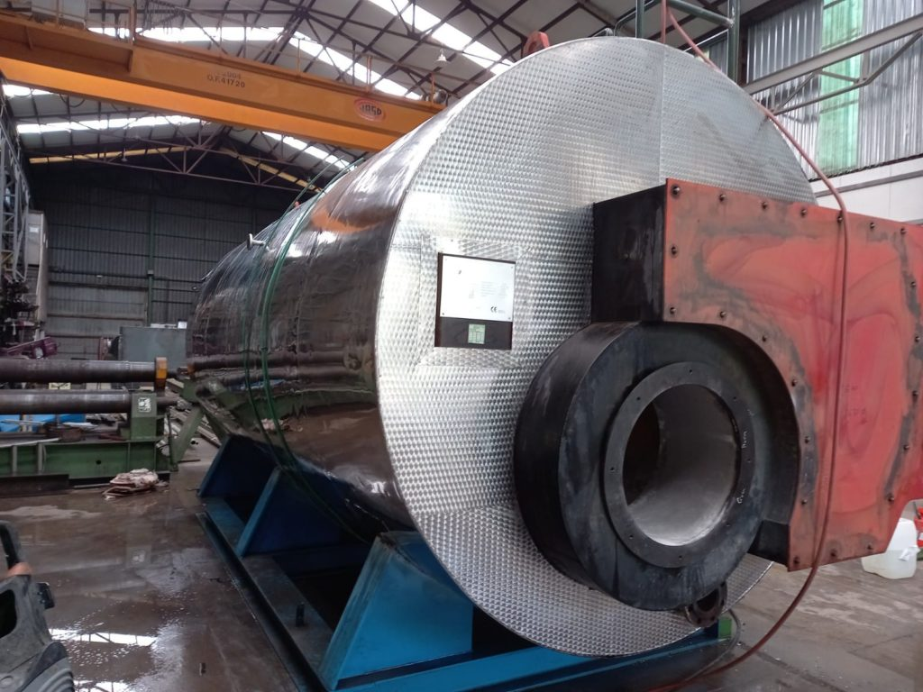 Caldera pirotubular de vapor - Soluciones Integrales de Combustion