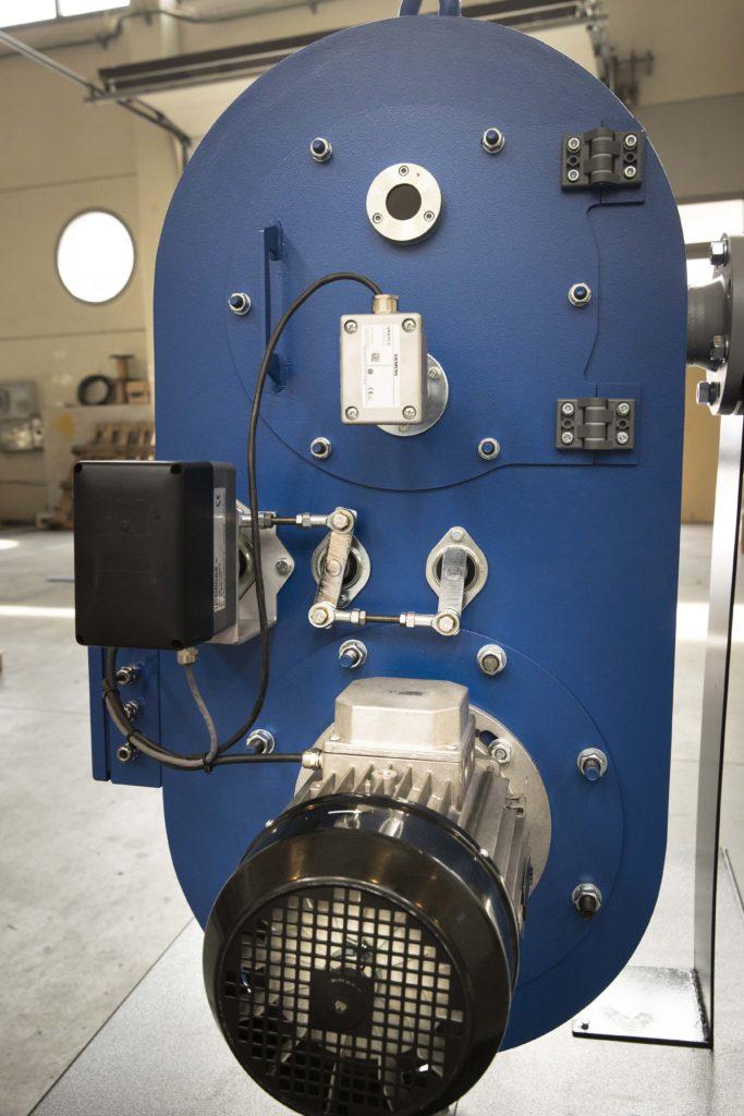 Prototipo de quemador de hidrogeno para proyectos multicombustible - E&M Combustion