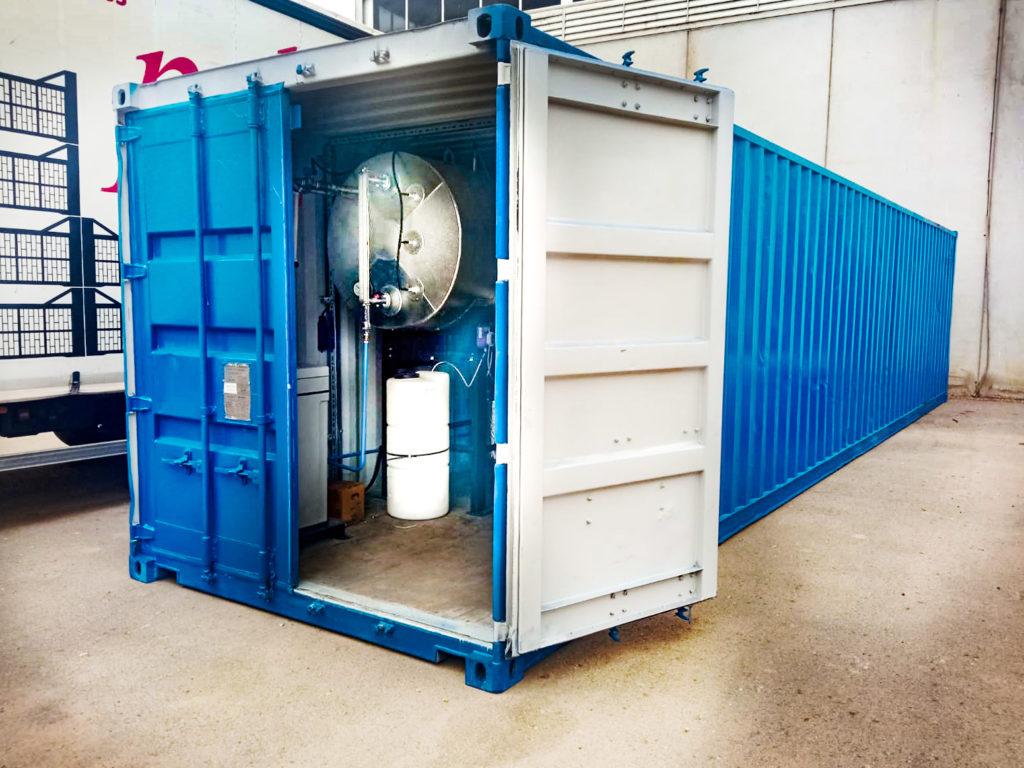 Soluciones termicas contenerizadas - Ingenieria de combustion para procesos industriales - Soluciones Integrales de Combustion
